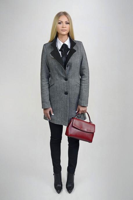 90ca923712e95 Klasyczny płaszcz Eliza - Monica Collection